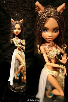 Clawdeen Wolf by ShiSanLingCha, via Flickr        The outfit is amazing!!! O.O