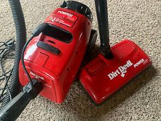 Dirt Devil Vacuum, Washer Cleaner, Canister Vacuum, Vacuum Bags, Canisters, Tool Kit, Vacuums, Ebay, Washing Machine Cleaner