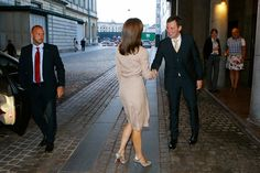 Queens & Princesses - On September 15, Princess Mary attended a reception in honor of WHO conference of the European WHO office that had occurred during the day in Copenhagen.