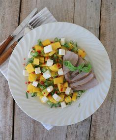 12 digge salater som passer perfekt til grillmaten! - LINDASTUHAUG Tzatziki, Ratatouille, Pesto, Grilling, Bacon, Ethnic Recipes, Food, Meal, Eten