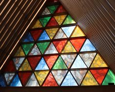 https://flic.kr/p/nPJ8X6 | Christchurch Cardboard Cathedral Stain Glass Window