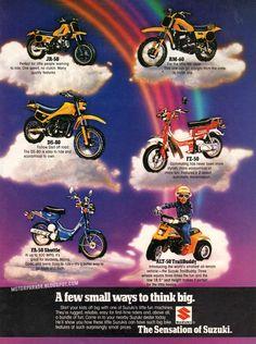Vintage Brochures: Suzuki 1982 (Usa)