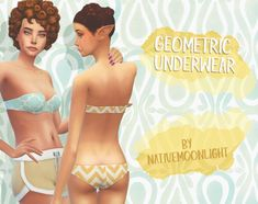 GEOMETRIC UNDERWEAR• 7 swatches each. • Base game compatible. • ENJOY! MWAHHH DOWNLOAD