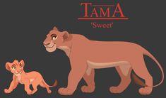 """ --------------- Name: Tama Relation: Daughter of Zahara and Kimbunga Adoptive Daughter of Diku Adoptive sibling&nbs. Lion King Funny, Lion King Timon, Simba And Nala, Disney Lion King, Lion King Story, Lion King Fan Art, Lion Art, Disney Drawings, Cute Drawings"