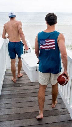 Southern Shirt American Twine Pocket Tank in-- pairs great with a pair of Cahaba Fishing Shorts! If you love fashion check us out. We're always adding new products for your closet! Preppy Mens Fashion, Fashion Moda, Preppy Boys, Preppy Style, Preppy Outfits, Summer Outfits, Rugby Outfits, Fishing Shorts, Bcbg