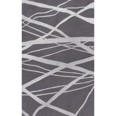 nuLOOM Handmade Pino Geometric Grey Modern Byways Rug (5' x 8') | Overstock™ Shopping - Great Deals on Nuloom 5x8 - 6x9 Rugs