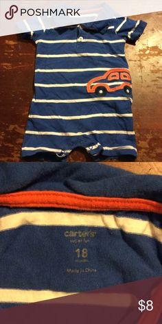 Boys size 18 months Carters One Piece Great condition! Size 18months. Carters Carter's One Pieces Bodysuits