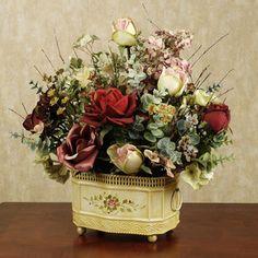 Floral Arrangements for Home | ... Floral Arrangement - Table Centerpieces - Home Accents - Touch Of