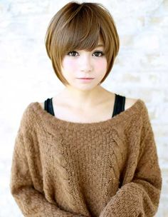 Asian Short Hair with Layers