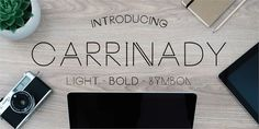 Image for Carrinady font