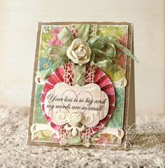 card designed by Amy Sheffer using JustRite Stamps - Sympathy Nested Sentiments