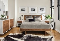 rustic home decor easy ideas master rustic shabby chic Room & Board - Moda Dressers - Modern Dressers - Modern Bedroom Furniture ☀️ Modern Kids Furniture, Wood Bedroom Furniture, Furniture Sets, Furniture Stores, Furniture Design, Walnut And White Bedroom Furniture, Cheap Furniture, Ikea Bedroom Dressers, White And Brown Bedroom
