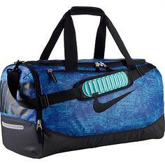 76c51d5f271f Rebel Sport - Nike Team Training Max Air Duffle Black Blue Medium Nike  Duffle Bag