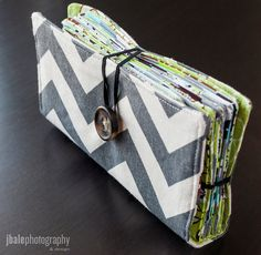 Gray Chevron Cash Envelope Wallet Dave Ramsey Budget by ZoeyKate, $35.00...something to look into after we take the class next month!