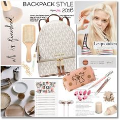 Beauty and accessories trend -  #inmybackpack - NewChic Style #5