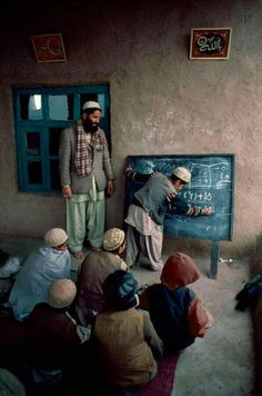 To Change the World: Plutarch, , Afghanistan photo by Steve McCurry: Education is the most powerful weapon which you can use to change the world. The mind is not a vessel to be filled, but a fire to be kindled. We Are The World, People Around The World, Change The World, In This World, Around The Worlds, Steve Mccurry, Cultures Du Monde, World Cultures, World Press Photo