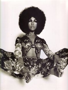 "heroinsight: ""  Marsha Hunt in Ossie Clark Ensemble, 1968 by Harri Peccinotti "" ❤️❤️"