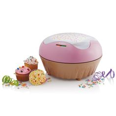 Sunbeam cupcake maker - makes 6 cupcakes in under 10 minutes. Yes, please!