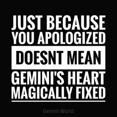 Apologies accepted forgiveness granted, and I still have no desire to do it again! Now can I have my privacy back please and thank you Gemini And Scorpio, Gemini Traits, Gemini Love, Gemini Sign, Gemini Quotes, Zodiac Signs Gemini, Gemini Woman, Gemini And Cancer, My Zodiac Sign