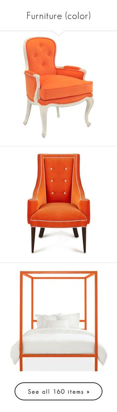 """""""Furniture (color)"""" by magic-pudding ❤ liked on Polyvore featuring home, furniture, chairs, accent chairs, angled chairs, decor, john richard furniture, white furniture, white accent chair and white chair"""