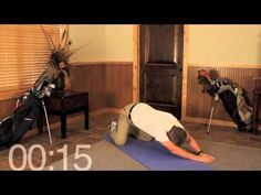 Over 50 Golfer? Best Golf Stretch to Open Up Your Swing and Let It Ride! - YouTube