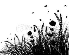 meadow Royalty Free Stock Vector Art Illustration