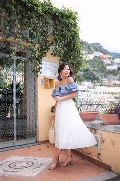 Pleated midi skirt (+ the best weekend sales!)