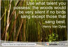 Motivational Quote by Henry Van Dyke