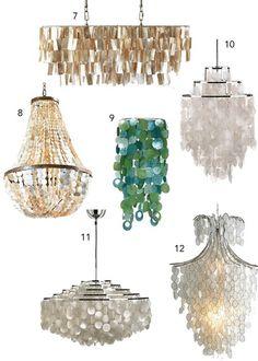 10+ Lampen ideas in 2020 | lights, chandelier, capiz shell