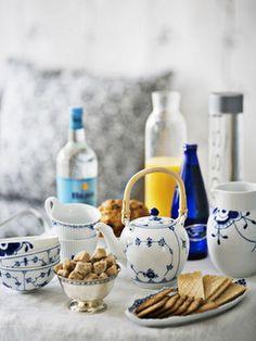 Royal Copenhagen tableware. Photography by Morten Holtum (http://www.holtum.dk/)