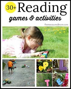 Such a great collection of phonics activities for kindergarten and first grade!