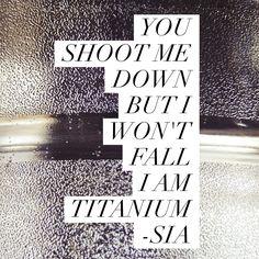 Sia - Titanium lyrics