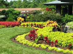 Garden Design with Trendy Flower Garden Ideas : Preplanned for Flower Garden…