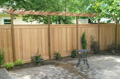 check this one out Angela...like the simple fence with the trellis topper