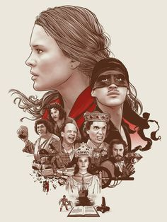 Poster by Joshua Budich. Best movie in existence: The princess bride The Princess Bride, Princess Bride Tattoo, Mike Mitchell, Pop Culture Art, Geek Art, Great Movies, Amazing Movies, Epic Movie, 80s Movies