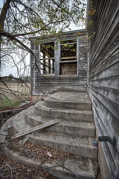Abandoned school in Kanona, Kansas.