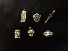 Small Pewter #Nintendo Charms ($10)