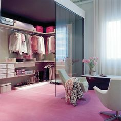Best Home Stylish Walk-In Closet Design Ideas Dream Closets, Dream Rooms, Dream Bedroom, Classy Closets, Open Closets, Small Closets, Walking Closet, Pink Closet, Closet Bedroom