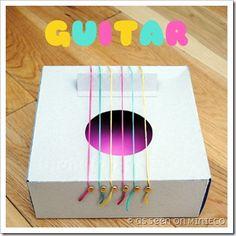 Come realizzare una chitarra per i bimbi a costo zero {Green.itudine del 22 settembre 2011}
