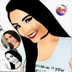 Transformando foto em #desenho com adobe #Photoshop Foto base Google Plus www.mfsite.com.br