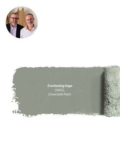 """""""Everlasting Sage by Cloverdale is a putty-like muted gray-green. It's the perfect historical color for kitchens and bathrooms — a happy color, but also one that works really well as a neutral."""" — Maxime Vandal & Richard Ouellette, Les Ensembliers 