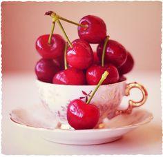 Cherries so pretty!