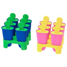 IKEA - CHOSIGT, Ice pop maker, assorted colors, Fill with fruit juice and make your own ice pops. For the mold to easily loosen, rinse with lukewarm water. Ice Pop Maker, Cellular Blinds, Baking Utensils, Recycling Facility, Fruit Ice, Ikea Family, Kid Desk, Packaging, Cleanser