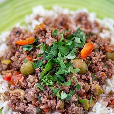Crock Pot Picadillo