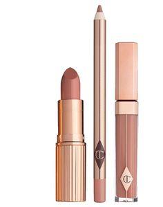 THE DOLCE VITA LIP KIT • Lip Cheat: Pillowtalk • K.I.S.S.I.N.G: Penelope Pink • Lip Lustre: Seduction