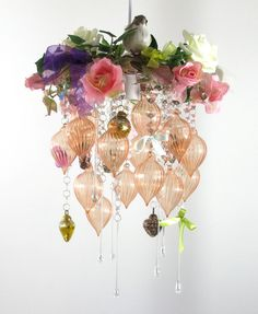 Shabby chic vintage-style romantic crystal by OriginalChandeliers