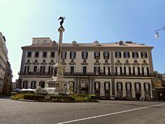 Calabritto Palace in Naples - after 1756 - Architect: Luigi Vanvitelli (Naples 1700-Caserta 1773)