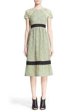 Burberry Prorsum Floral Guipure Lace & Macramé Dress $1,976.98  #BestPrice…