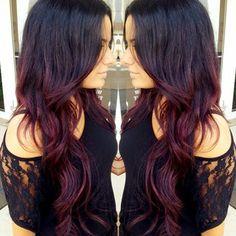 Love the idea dark to reddish or mahogany hue