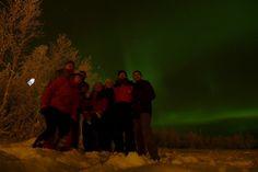Finlandia novembre 2017 - Aurora Boreale con amici e colleghi
